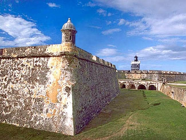 The ancient San Felipe del Morro Fort.