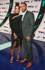 Eudoxie Mbouguiengue and Ludacris attend the 2017 MTV Video Music Awards at The Forum on August 27, 2017 in Inglewood, California. Picture: Getty
