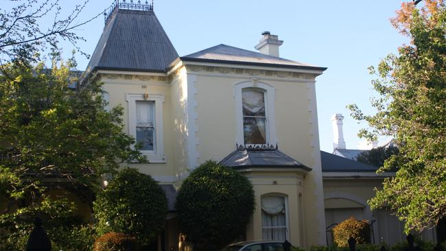 Carlton House In Fitzroy Which Would Become Part Of An Expanded St Georges Park Nursing Home