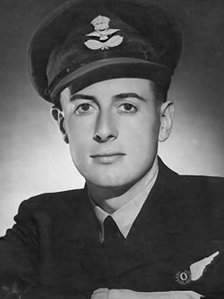 Pilot officer Gough Whitlam in WWII.