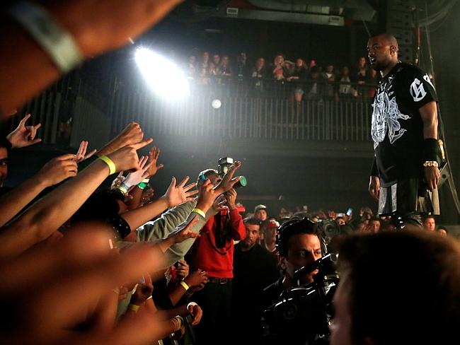 Kanye West performs onstage at SXSW on March 12, 2014 in Austin, Texas.