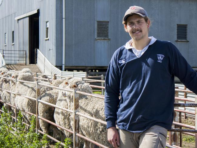 Australian Apprentice (Trainee) of the Year Dustin Cross. Picture: Supplied