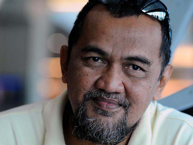 Not to blame ... Asuad Khan says his brother-in-law — MH370 pilot Capt Zaharie Ahmad Khan — was a loving family man.