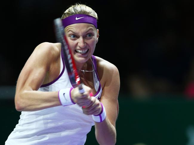 Wimbledon champ Petra Kvitova says she is shocked by the Sharapova revelation.