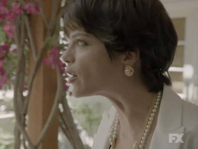 Selma Blair as Kris Jenner (then known as Kris Kardashian) in a scene from The People vs OJ Simpson. Picture: FX