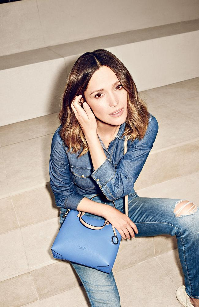 Rose Byrne stars in Oroton's spring/summer campaign. Picture: Beau Grealy