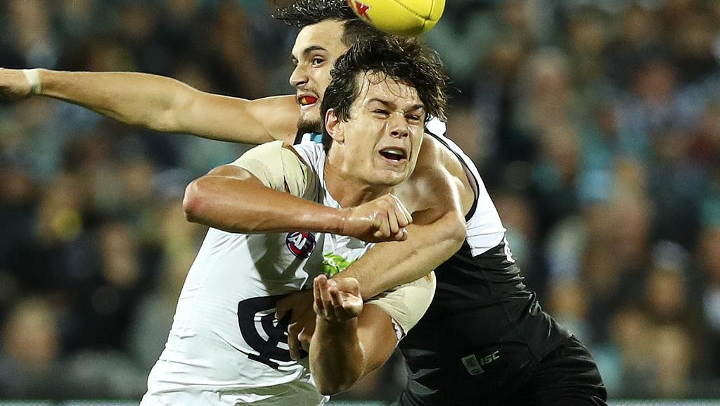 Carlton were poor against Port Adelaide. Picture: Sarah Reed