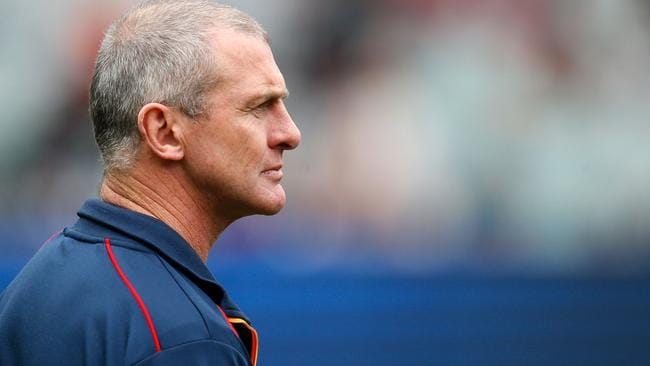 former adelaide crows coach phil walsh picture michael willson afl