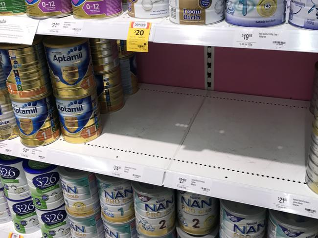 Some supermarkets now keep emergency tins locked away with the cigarettes.