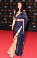 AFL diversity ambassador Preeti Daga at the Brownlow medal ceremony at Crown in Melbourne, Monday, September 25, 2017. Picture: AAP Image/James Ross
