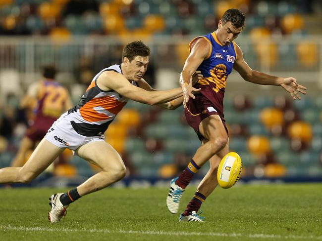 Rockliff is averaging more tackles than any other player in the AFL. Picture: Jono Searle