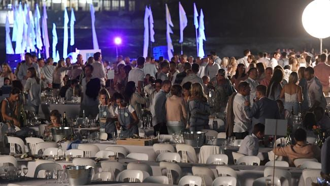 Attendees of A Moveable Feast have lashed out at organisers, saying it ran out of food and forced them to wait in lengthy lines. Picture: Gordon McComiskie