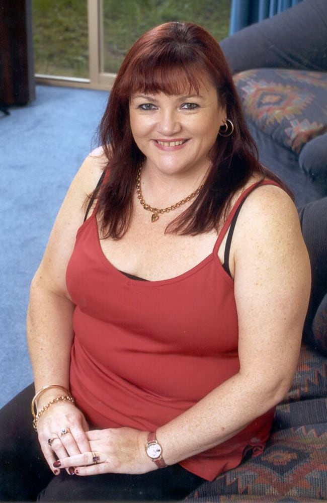 New Zealand woman Carol Whitmore, pictured here in 2002, after her breast reduction.