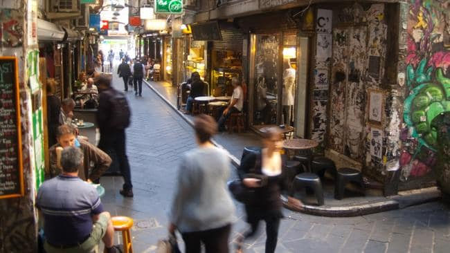 Lanes ahead ... Melbourne has taken out the title of most livable city for four years running. Picture: Wikipedia