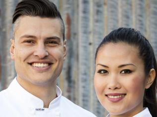 IMAGES EMBARGOED TIL SUNDAY JULY 23 10PM Top 2 MASTERCHEF 2017 FINAL - Diana Chan (VIC) and Ben Ungermann (QLD). Strictly Embargoed. Cannot appear in print or online till 10PM AEST Sun July 23, 2017 (3) (1)