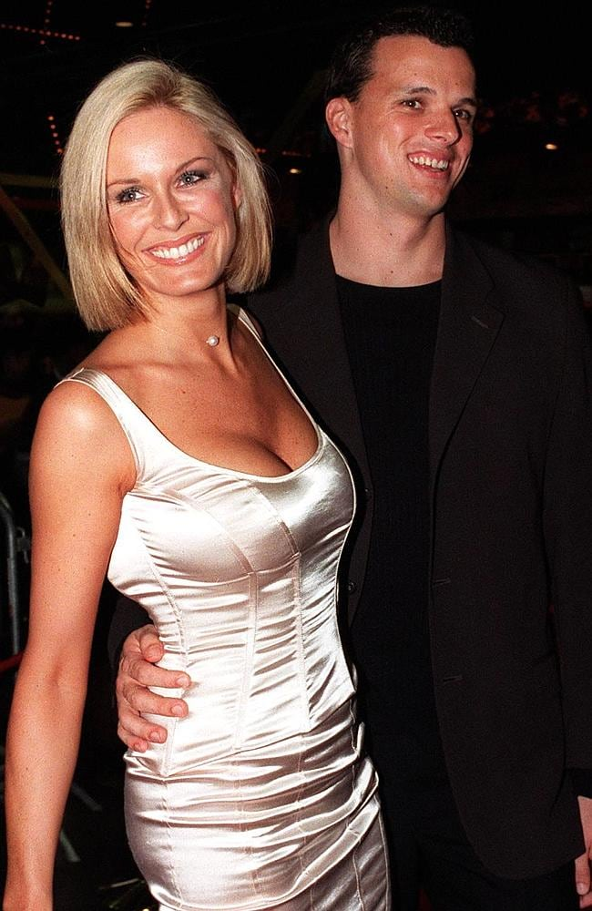 Charlotte Dawson and Scott Miller in 1999.
