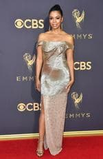 Susan Kelechi Watson attends the 69th Annual Primetime Emmy Awards at Microsoft Theater on September 17, 2017 in Los Angeles. Picture: Getty