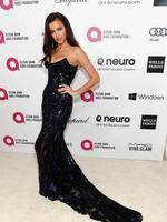 Model Irina Shayk attends the 22nd Annual Elton John AIDS Foundation Academy Awards Viewing Party. Picture: Getty