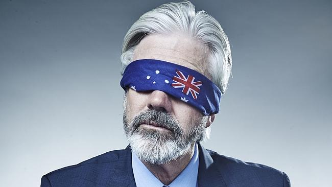 Mad As Hell ... Shaun Micallef's show returns to the ABC tonight. Picture: Supplied