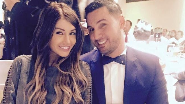 Disgraced former Auburn Councillor Salim Mehajer and his then-wife Aysha — who later lodged an application for an apprehended violence order (AVO) against Salim.