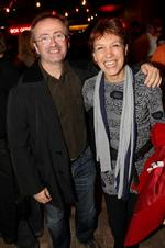 <p>Shakers and movers...Andrew Denton and Jennifer Byrne.</p>