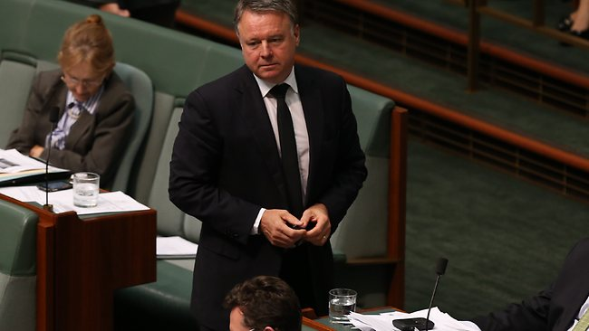 Joel Fitzgibbon in Question Time in the House of Representatives Chamber Parliament House in Canberra. Picture: Kym Smith