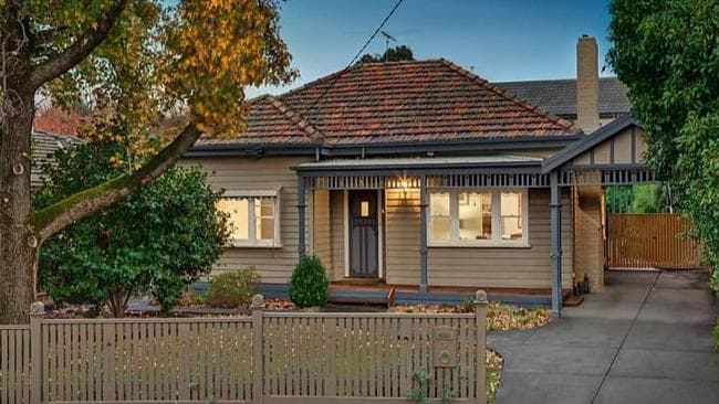 Strong interest saw 21 Nott St, Balwyn Victoria sell for $1.675 million. Picture: realestate.com.au