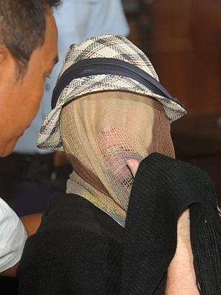 Free ... Schapelle Corby at a correction bureau in Denpasar. Picture: AFP
