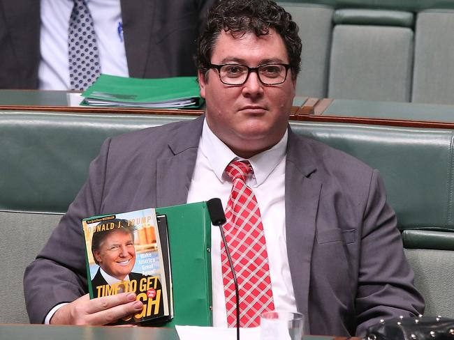 George Christensen has threatened to cross the floor before in Canberra. Picture: Kym Smith