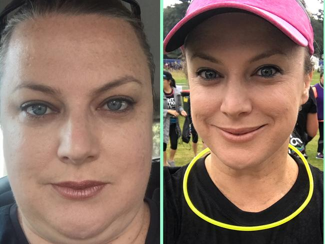 Before and after the WLCW program.