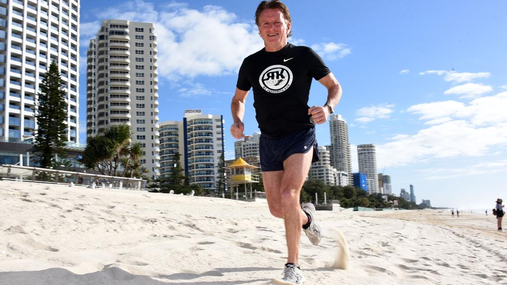 former olympian and gold coast runs the distance to