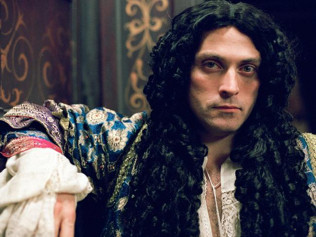 Sewell plays Charles II in the BBC mini series  <i>Charles II: The Power & The Passion</i>.