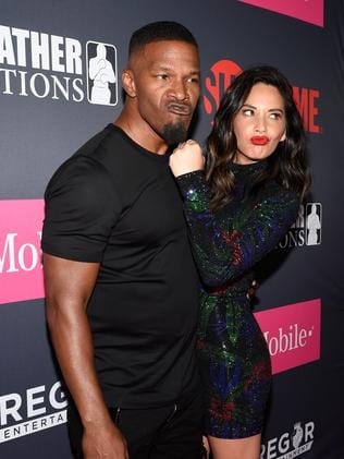 Actor Jamie Foxx and Actress Olivia Munn