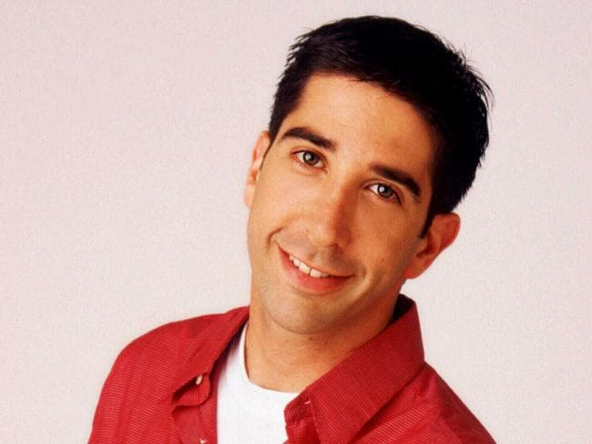 David Schwimmer was offered the part of Ross without auditioning. Picture: News Limited