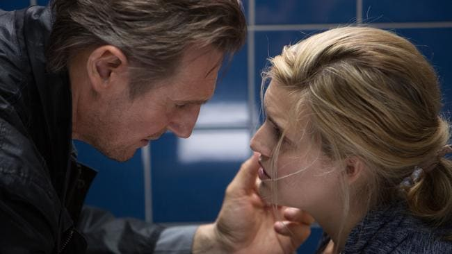 Not again! ... Liam Neeson and Maggie Grace in Taken 3