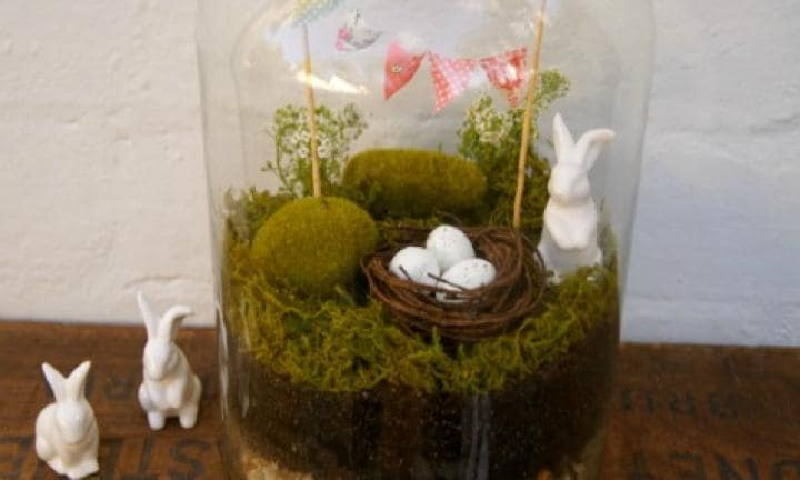 Make an Easter terrarium