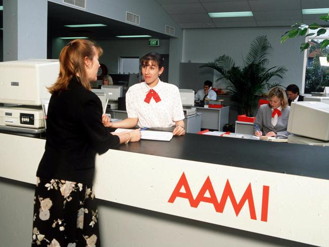 Under fire … AAMI.
