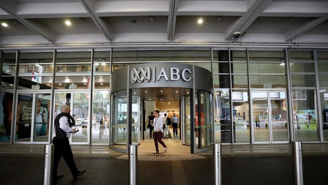 The ABC Head Office in Ultimo, Sydney, where 72 per cent of staff have reported dangerous workplace stress levels.