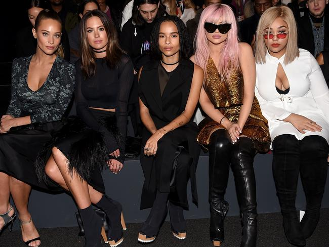 Zoe Kravitz Jennifer Lawrence Friends: Jesinta Campbell Denies She Was Snubbed By Kylie Jenner