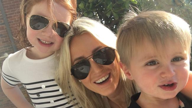 Roxy Jacenko and her children, Hunter & Pixie. Source: Instagram
