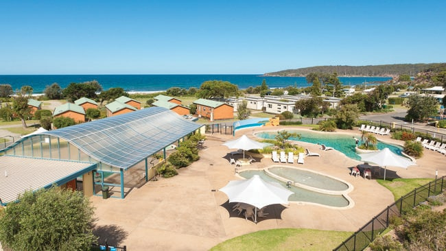 Discovery Holiday Park, Pambula Beach, NSW.
