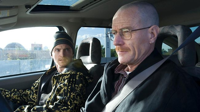 "Bryan Cranston, right, as Walt in ""Breaking Bad"""