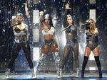 Dinah Jane, Normani Kordei, Lauren Jauregui, and Ally Brooke of Fifth Harmony perform a medley during the 2017 MTV Video Music Awards at The Forum on August 27, 2017 in Inglewood, California. Picture: AFP