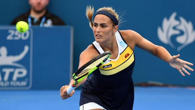Olympic Gold medallist Monica Puig's Brisbane International campaign is over.