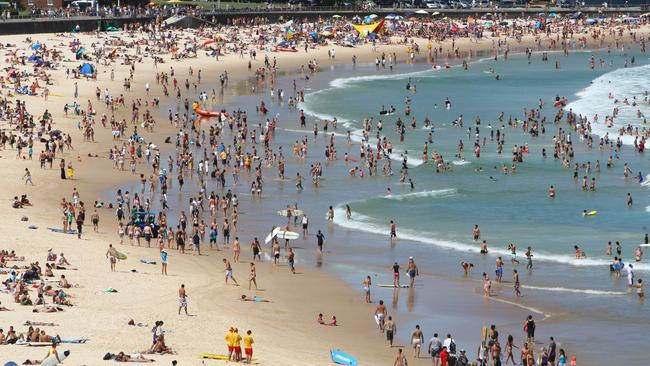 Popular...Sydney's famous Bondi Beach which attracts both tourists and locals alike. Picture: Supplied