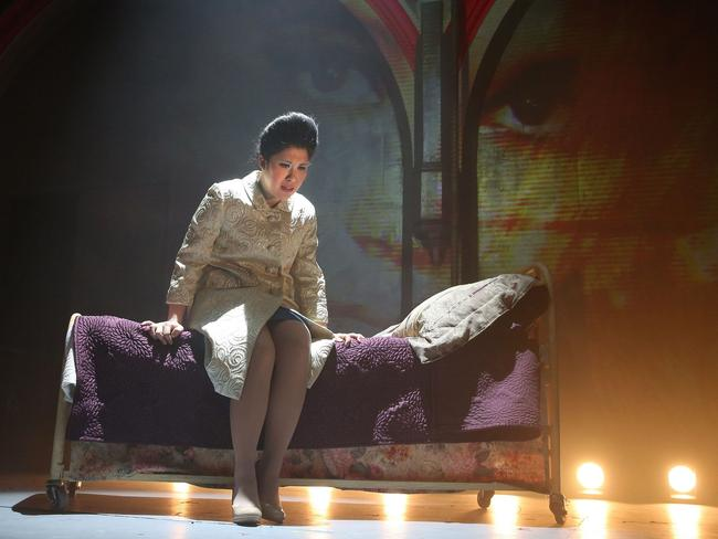 Ruthie Ann Miles on stage in New York. Picture: Joan Marcus