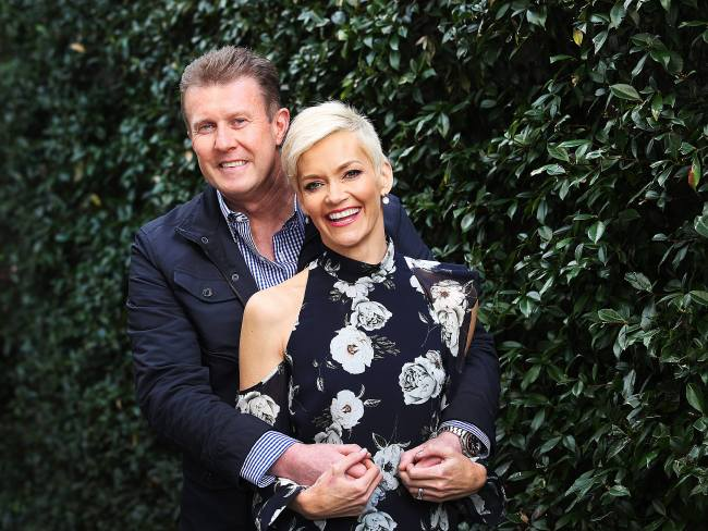 Peter Overton and Jessica Rowe tied the knot in 2004. Photo: News Corp
