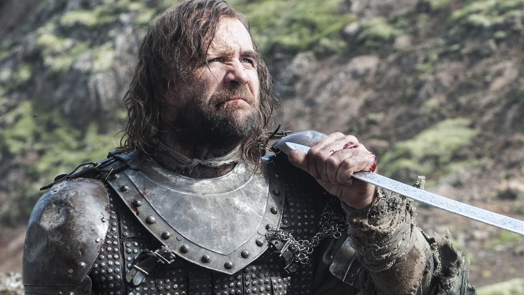 Rory McCann has promised a brutal new series of Game Of Thrones. Picture: Supplied