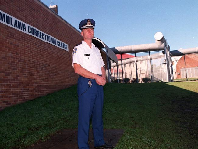 A former governor outside Mulawa women's prison, which is now called Silverwater Women's, holds female killers in a protection wing.