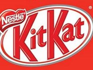 KIT KAT SHOWBAG, $7, 1 × Kit Kat 4 Finger 45G, 5 × Mini Kit Kat 17G, 2 × Bertie Beetle 10G, 1 × Wonka Red Skin 11.5G, 1 × Wonka Milko Stick 11.5G